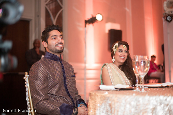 Reception in Atlanta, GA Indian Wedding by Garrett Frandsen