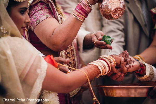Indian wedding in Jersey City, NJ Indian Wedding by Charmi Pena Photography