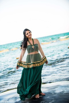 Inspiration Photo Gallery Indian Weddings Pre Wedding Outfit