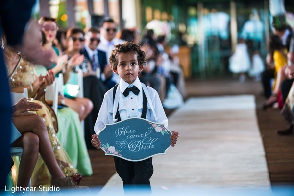 destination wedding,pakistani wedding,pakistani wedding ceremony,traditional pakistani wedding ceremony,non-denominational wedding,non-denominational wedding ceremony,non-denominational ceremony,waterfront wedding,here comes the bride sign,here comes the bride