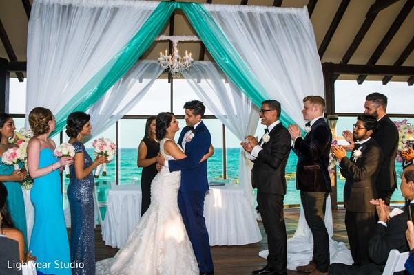 destination wedding,pakistani wedding,pakistani wedding ceremony,traditional pakistani wedding ceremony,non-denominational wedding,non-denominational wedding ceremony,non-denominational ceremony,waterfront wedding
