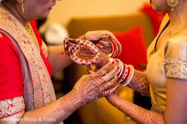 Indian bride getting ready in Westlake Village, CA Indian Wedding by Aaroneye Photo & Video