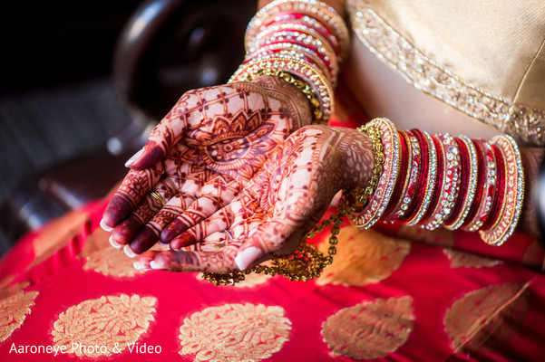 Mehndi hands in Westlake Village, CA Indian Wedding by Aaroneye Photo & Video