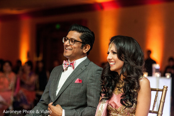 Reception in Westlake Village, CA Indian Wedding by Aaroneye Photo & Video