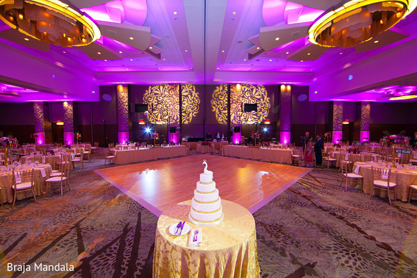 Venue & Lighting in Scottsdale, AZ Indian Wedding by Braja Mandala Photography