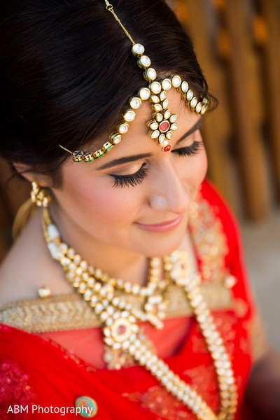 Makeup & Jewelry in La Jolla, CA Indian Fusion Wedding by ABM Wedding Photography