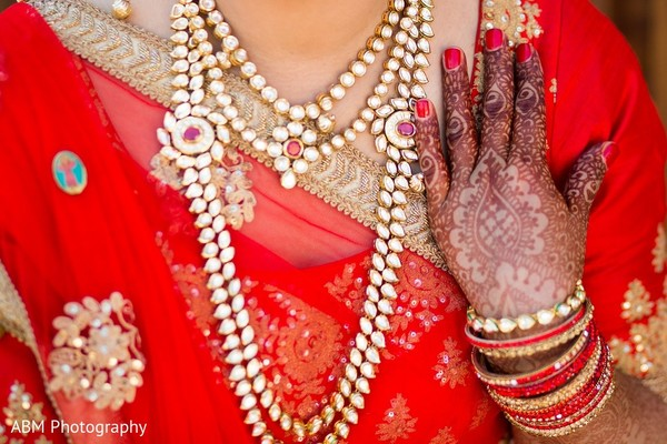 Bridal Jewelry & Mehndi in La Jolla, CA Indian Fusion Wedding by ABM Wedding Photography