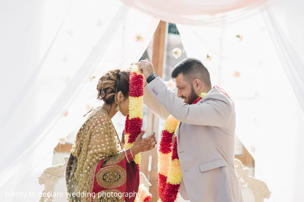Ceremony in London, UK Indian Wedding by Plenty To Declare Wedding Photography