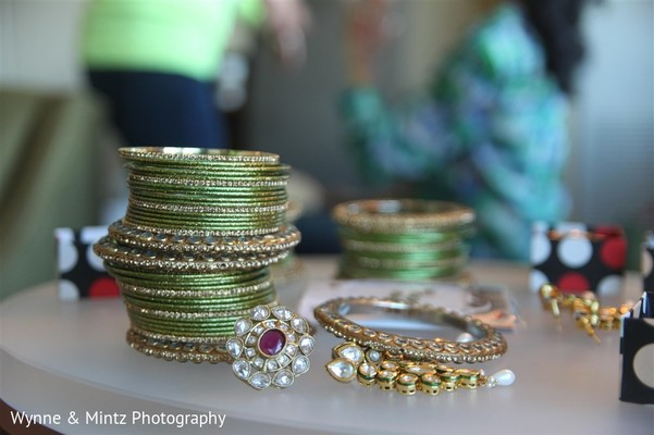 Indian bridal jewelry in Danvers, MA Indian Fusion Wedding by Wynne & Mintz Photography