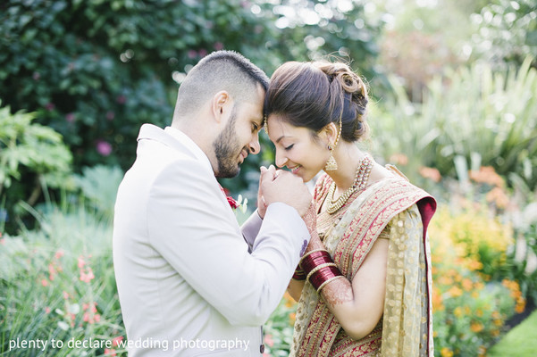 Wedding Portrait in London, UK Indian Wedding by Plenty To Declare Wedding Photography