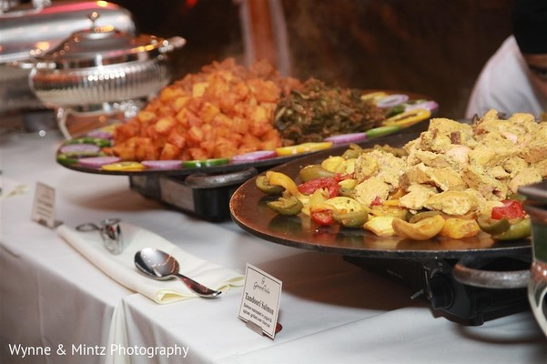 Catering in Danvers, MA Indian Fusion Wedding by Wynne & Mintz Photo Studio
