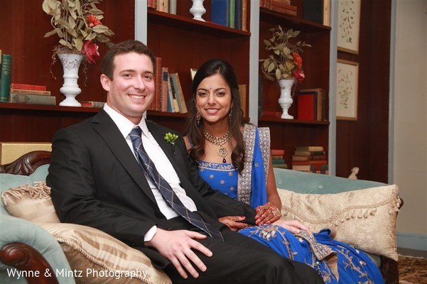 Reception in Danvers, MA Indian Fusion Wedding by Wynne & Mintz Photography