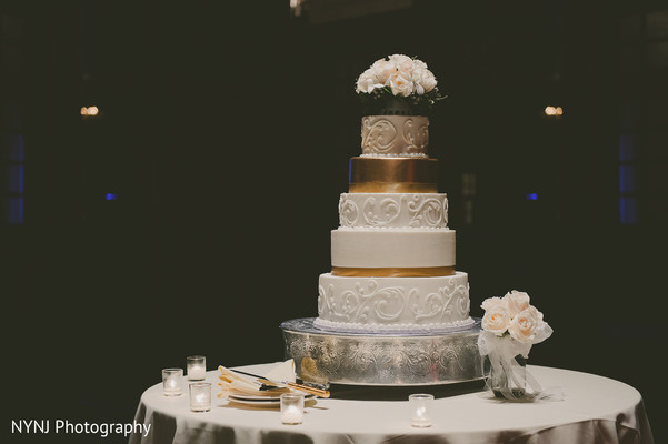 Indian wedding cake in Philadelphia, PA Indian Wedding by NYNJ Photography