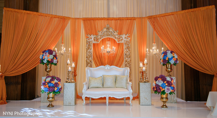 Sweetheart stage in Philadelphia, PA Indian Wedding by NYNJ Photography