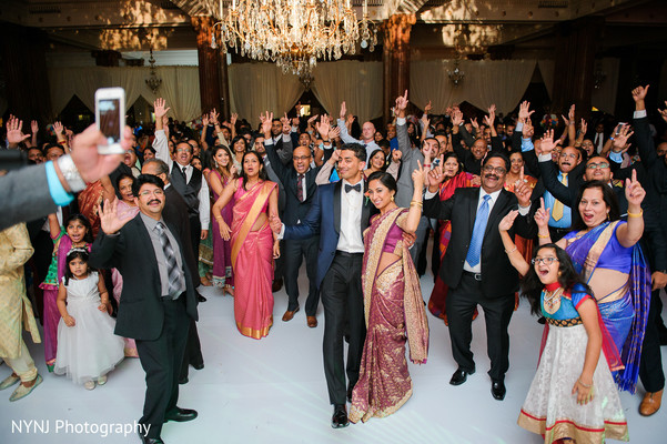 Indian wedding reception in Philadelphia, PA Indian Wedding by NYNJ Photography