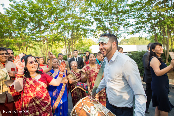 Baraat in Atlanta, GA Indian Fusion Wedding by Events by SPL