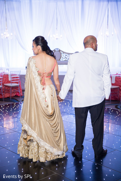 fusion wedding,indian fusion wedding,reception portraits