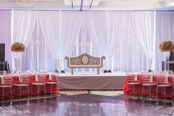 reception decor,floral and decor,sweetheart stage