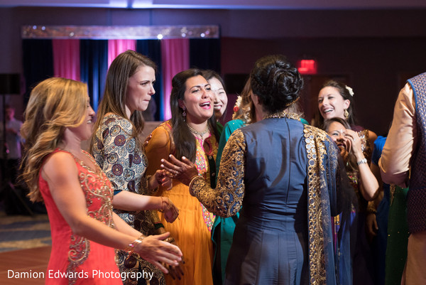 Sangeet in Jersey City, NJ Indian Wedding by Damion Edwards Photography