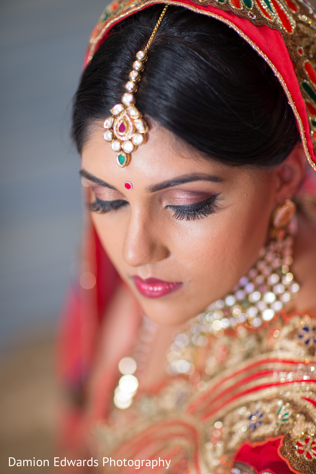 Makeup Jewelry In Jersey City Nj Indian Wedding By Damion Edwards Photography Maharani Weddings