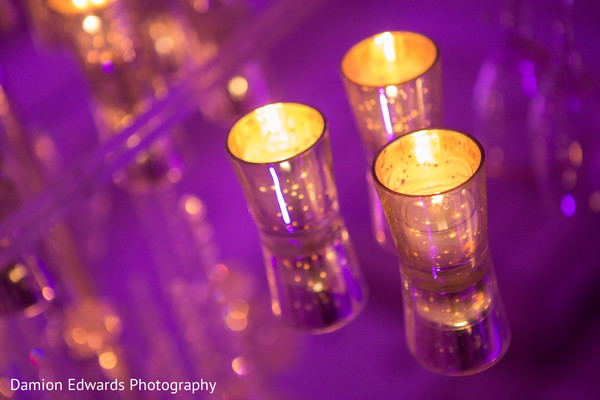 Lighting in Jersey City, NJ Indian Wedding by Damion Edwards Photography
