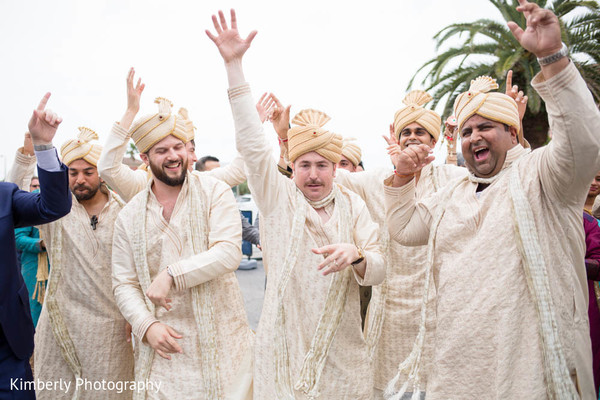 Baraat in St. Petersburg, FL Indian Fusion Wedding by Kimberly Photography