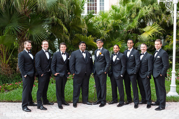 Indian reception portraits in St. Petersburg, FL Indian Fusion Wedding by Kimberly Photography
