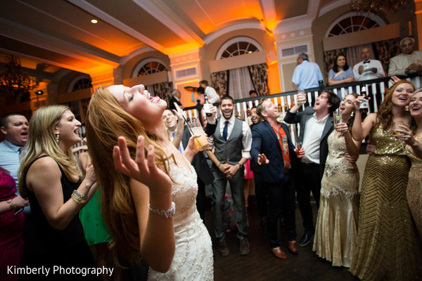 Indian wedding reception in St. Petersburg, FL Indian Fusion Wedding by Kimberly Photography