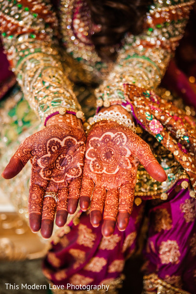 Mehndi hands in Atlanta, GA Pakistani Wedding by This Modern Love Photography