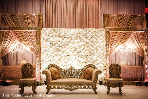 Sweetheart stage in Atlanta, GA Pakistani Wedding by This Modern Love Photography