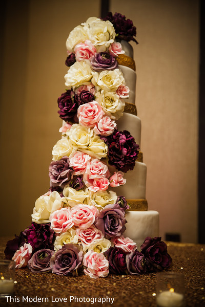 Pakistani wedding cake in Atlanta, GA Pakistani Wedding by This Modern Love Photography