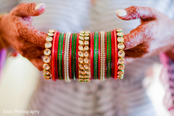 Churis in Orlando, FL Indian Wedding by Sona Photography