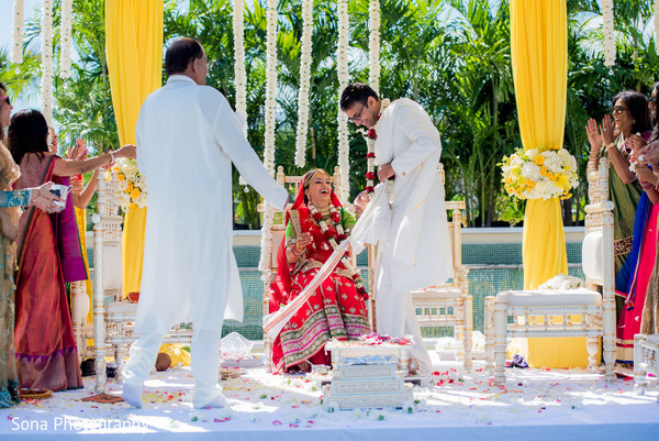 Indian wedding ceremony in Orlando, FL Indian Wedding by Sona Photography