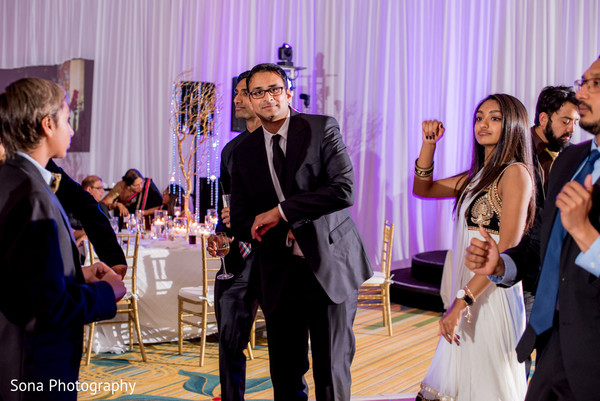Indian wedding reception in Orlando, FL Indian Wedding by Sona Photography