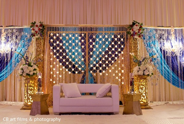 Floral & Decor in Tysons Corner, VA Indian Wedding by CB Art Photography