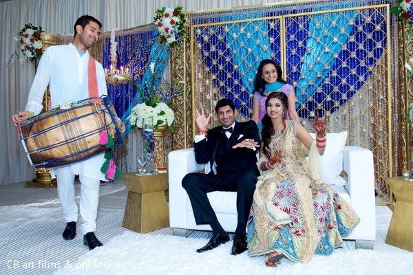 Reception in Tysons Corner, VA Indian Wedding by CB Art Photography