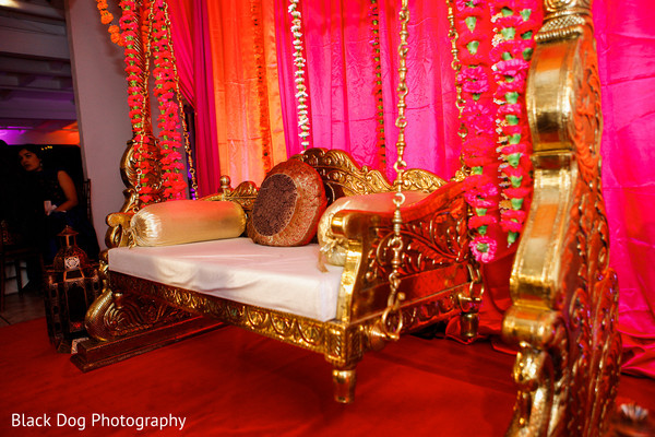 Sangeet Decor in Temecula, CA Indian Wedding by Black Dog Photography