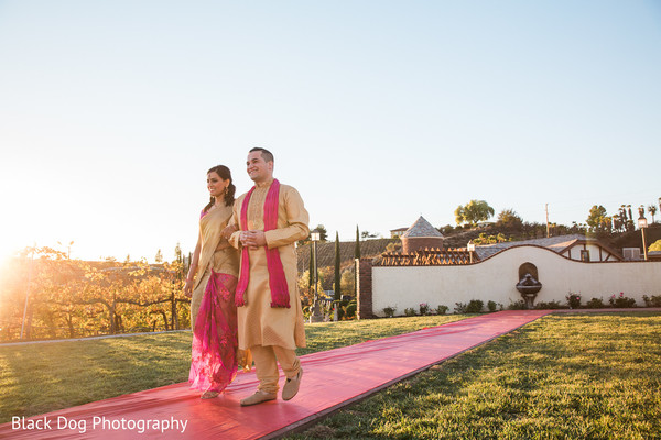 Ceremony in Temecula, CA Indian Wedding by Black Dog Photography