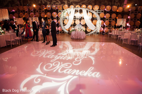 Lighting in Temecula, CA Indian Wedding by Black Dog Photography