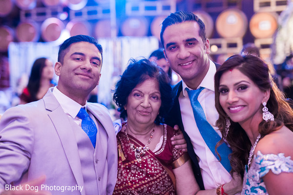 Reception in Temecula, CA Indian Wedding by Black Dog Photography