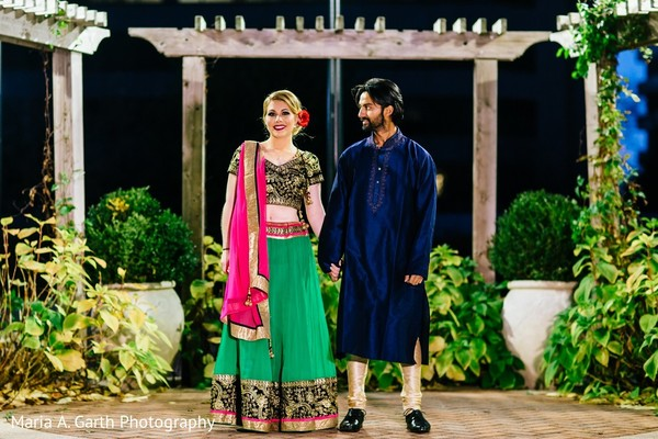 Pre-Wedding Portrait in Styled Indian Fusion Wedding Inspiration Shoot by Maria A. Garth Photography