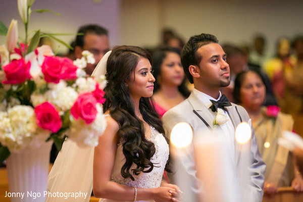 Ceremony in Dallas, TX Indian Wedding by Jonny Ngo Photography