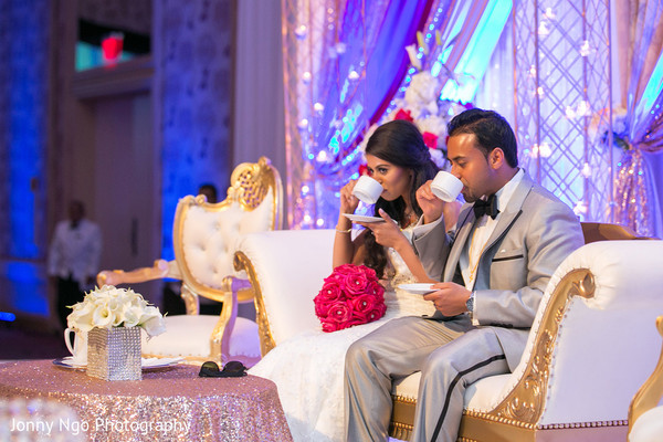 Reception in Dallas, TX Indian Wedding by Jonny Ngo Photography