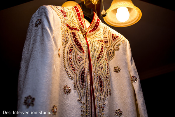 Sherwani in Selma, CA Sikh Wedding by Desi Intervention