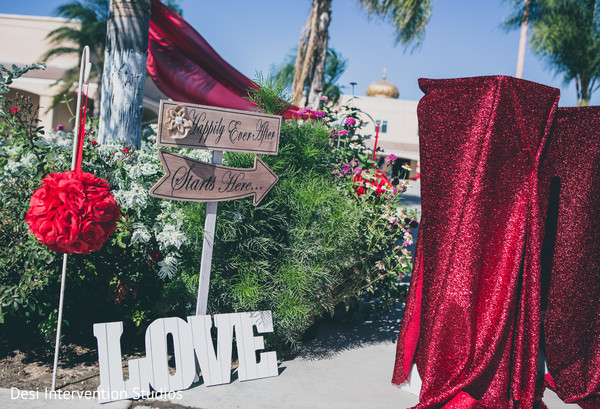 Cute signs for Indian wedding in Selma, CA Sikh Wedding by Desi Intervention