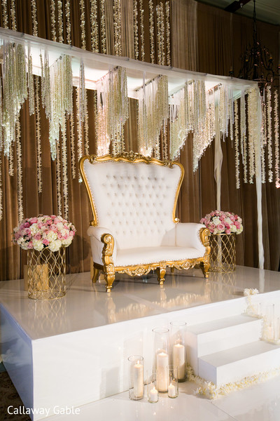 Floral & Decor in Pacific Palisades, CA Indian Wedding by Callaway Gable