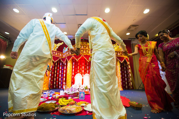 South indian wedding in Toronto, ON South Asian Wedding by Popcorn Studios