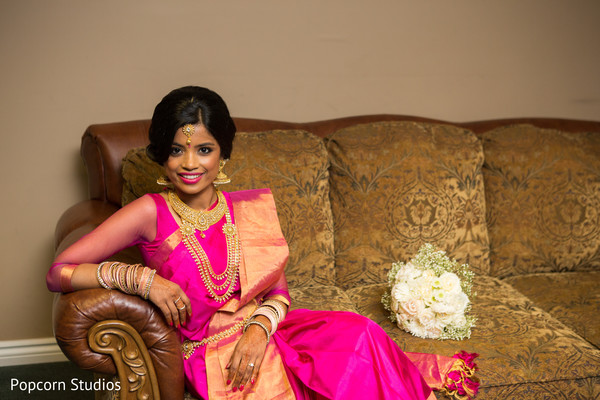 South indian bride in Toronto, ON South Asian Wedding by Popcorn Studios