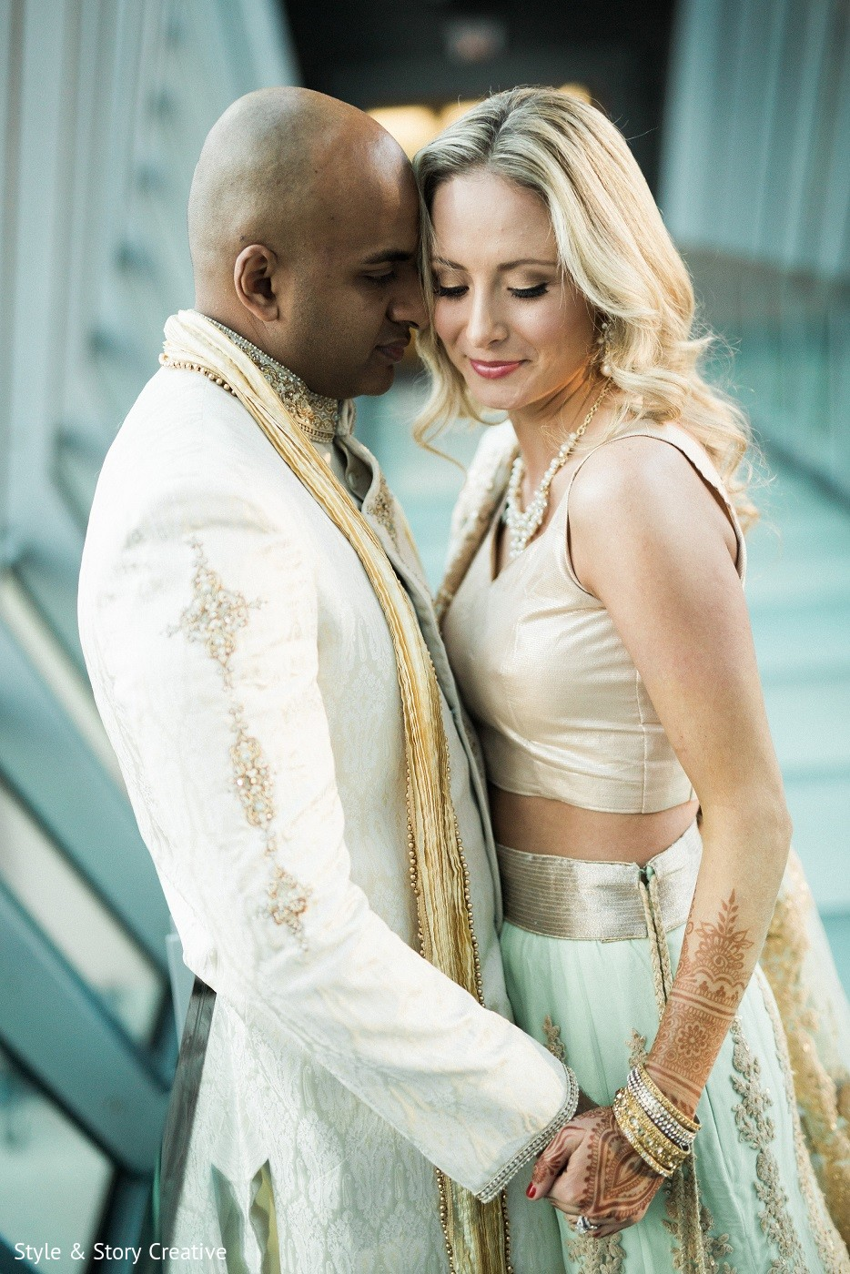 Columbus, OH Indian Fusion Wedding by Style & Story Creative ...