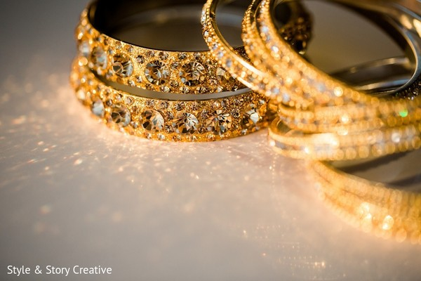 Bridal Jewelry in Columbus, OH Indian Fusion Wedding by Style & Story Creative